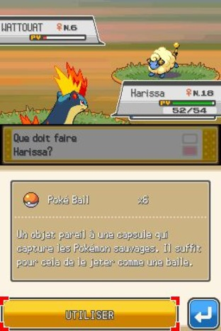 Test Pokémon Version Argent : Soulsilver Nintendo DS - Screenshot 211