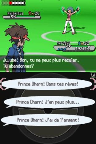 Test Pokémon Version Blanche 2 Nintendo DS - Screenshot 90