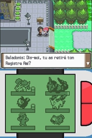 Test Pokémon Version Platine Nintendo DS - Screenshot 131