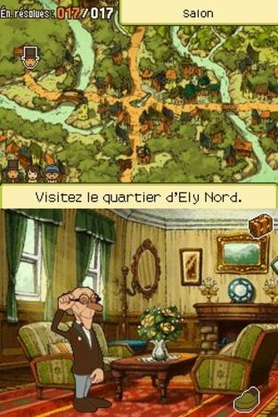 Professeur Layton et l'Appel du Spectre Nintendo DS