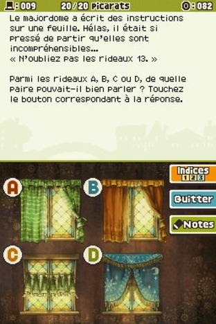 Professeur Layton et l'Appel du Spectre DS - Screenshot 151