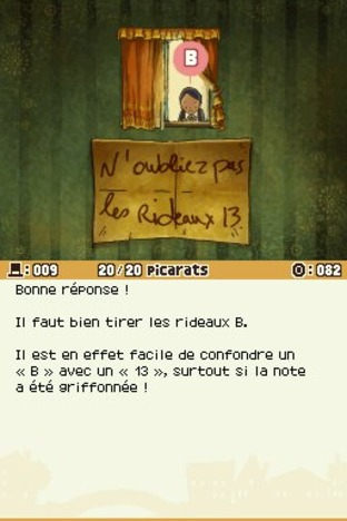 Professeur Layton et l'Appel du Spectre DS - Screenshot 152