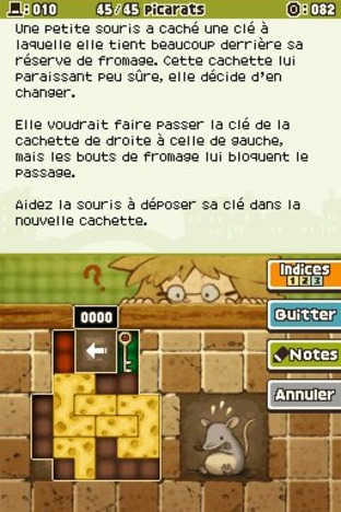 Professeur Layton et l'Appel du Spectre DS - Screenshot 153