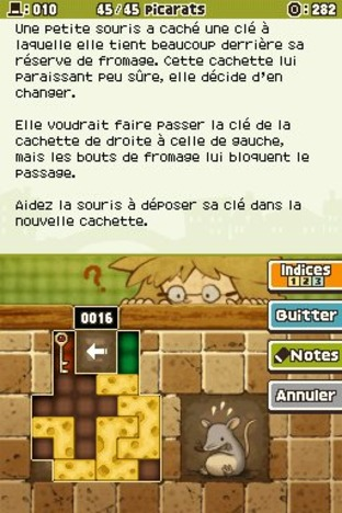 Professeur Layton et l'Appel du Spectre DS - Screenshot 154
