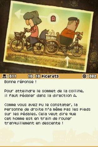 Professeur Layton et l'Appel du Spectre DS - Screenshot 157