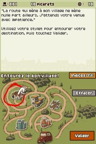Professeur Layton et l'Etrange Village DS - Screenshot 198