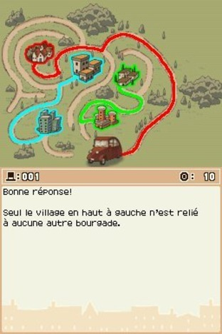 Professeur Layton et l'Etrange Village DS - Screenshot 199