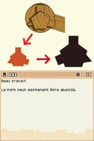 Professeur Layton et l'Etrange Village DS - Screenshot 201