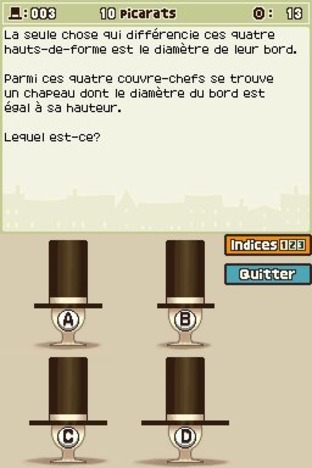 Professeur Layton et l'Etrange Village DS - Screenshot 202