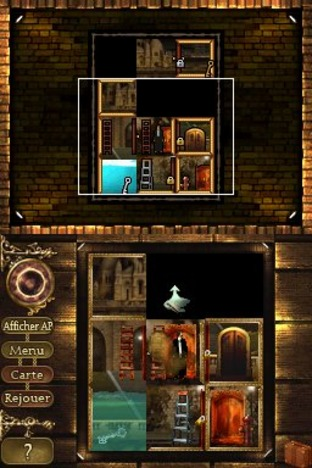 Test Rooms : The Main Building Nintendo DS - Screenshot 64