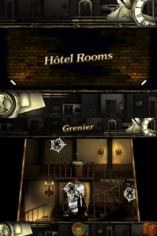 Test Rooms : The Main Building Nintendo DS - Screenshot 71