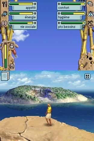 Les Sims 2 : Naufragés Nintendo DS