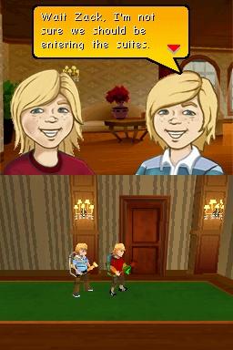 La Vie de Palace de Zack & Cody : Chasse aux Espions