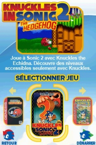 Test Sonic Classic Collection Nintendo DS - Screenshot 61
