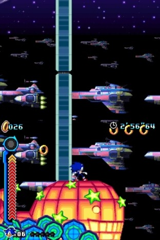 Test Sonic Colours Nintendo DS - Screenshot 88