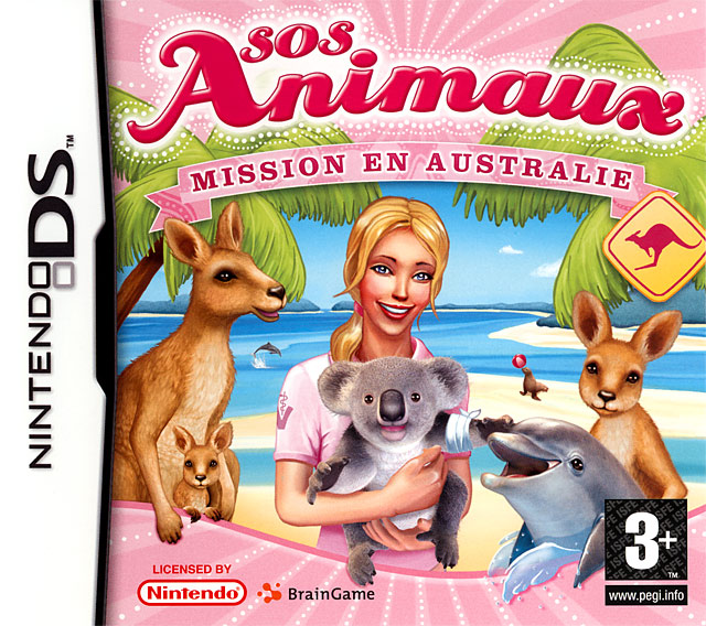 sos animaux mission en australie sur nintendo ds. Black Bedroom Furniture Sets. Home Design Ideas