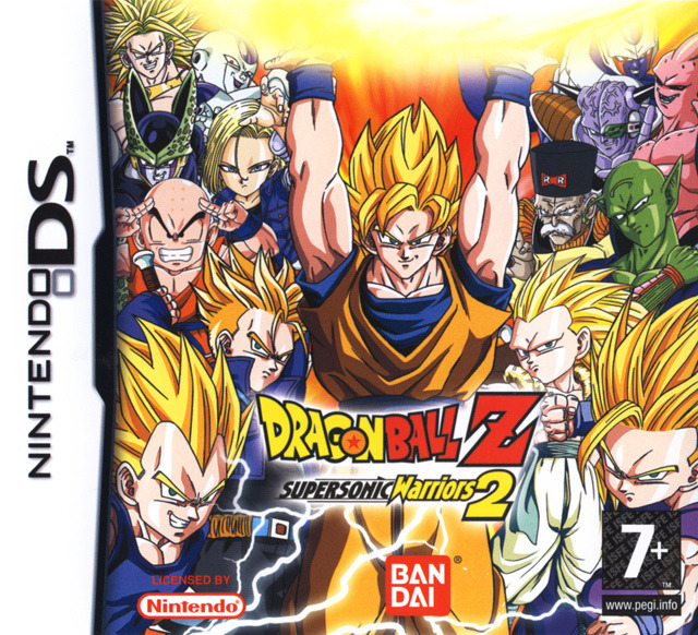 dragon ball z supersonic warriors 2 sur nintendo ds. Black Bedroom Furniture Sets. Home Design Ideas