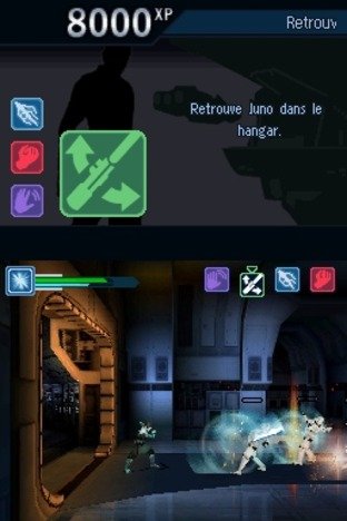 Test Star Wars : Le Pouvoir de la Force II Nintendo DS - Screenshot 26