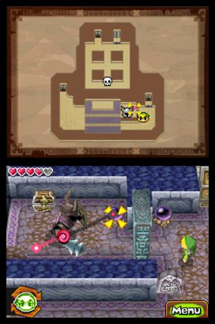 Zelda : Spirit Tracks daté aux Etats-Unis