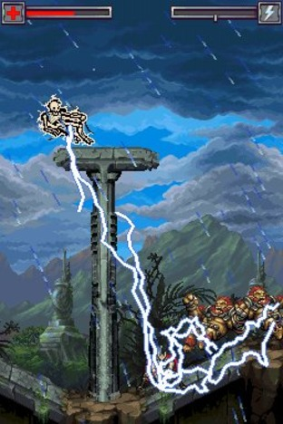 Test Thor : Dieu du Tonnerre Nintendo DS - Screenshot 4