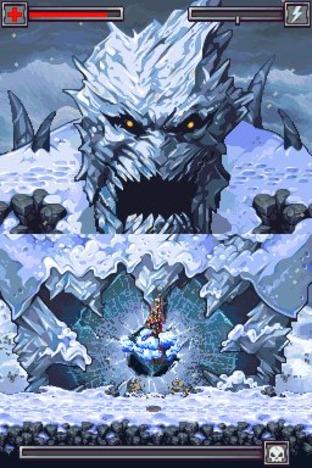 Test Thor : Dieu du Tonnerre Nintendo DS - Screenshot 5