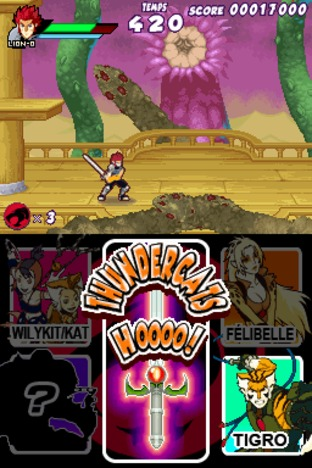 Test Thundercats Nintendo DS - Screenshot 72