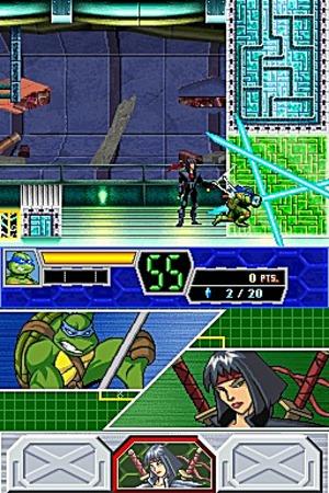 Teenage Mutant Ninja Turtles 3 : Mutant Nightmare Nintendo DS - 19