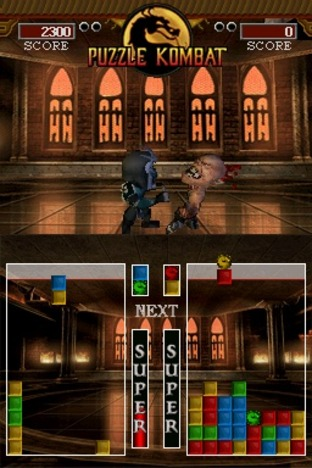 Test Ultimate Mortal Kombat Nintendo DS - Screenshot