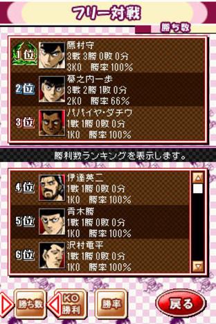 Fiche complète Victorious Boxers DS - Nintendo DS
