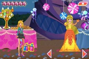 Test Winx Club : La Fête des Fées Nintendo DS - Screenshot 1
