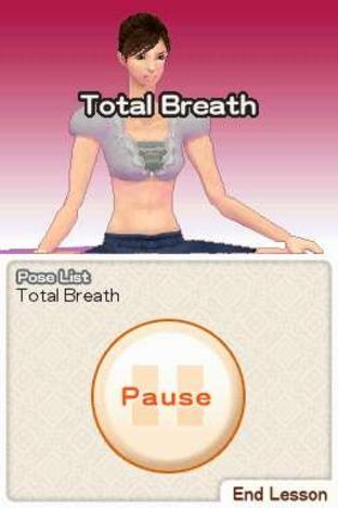 Test Let's Yoga! Nintendo DS - Screenshot 5