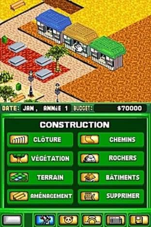 Fiche complète Zoo Tycoon DS - Nintendo DS