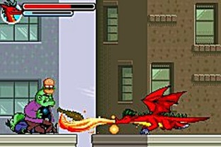 Test American Dragon : Jake Long Gameboy Advance - Screenshot 1
