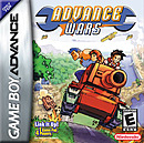 Jaquette Advance Wars - Gameboy Advance