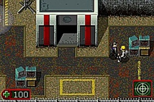 Test Alex Rider : Stormbreaker Gameboy Advance - Screenshot 1