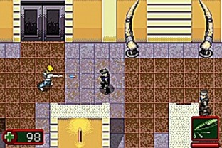Test Alex Rider : Stormbreaker Gameboy Advance - Screenshot 2