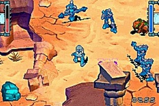 Test Bionicle Heroes Gameboy Advance - Screenshot 1