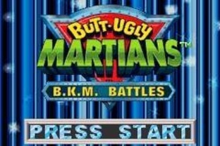 Images Butt-Ugly Martians : B.K.M. Battles Gameboy Advance - 1