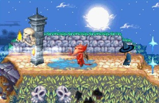 Test Castleween Gameboy Advance - Screenshot 2