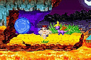 Crash Bandicoot : Fusion GBA - Screenshot 1