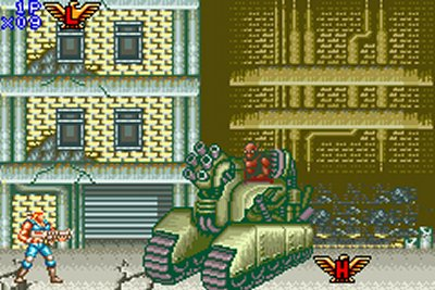 Contra Advance : The Alien Wars EX