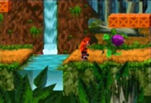 Crash Bandicoot XS GBA - Screenshot 1
