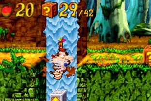 Test Crash Bandicoot XS Gameboy Advance - Screenshot 4
