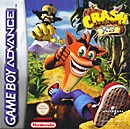 Jaquette Crash Bandicoot XS - Gameboy Advance