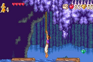 Test Disney's Aladdin Gameboy Advance - Screenshot 3