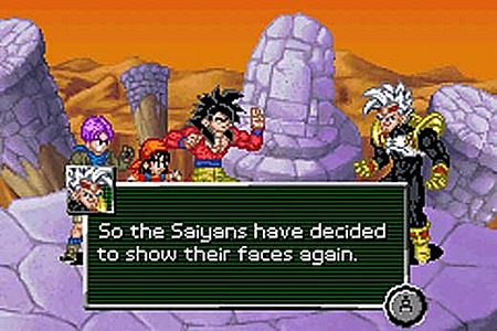 Dragon Ball GT : Transformation Gameboy Advance