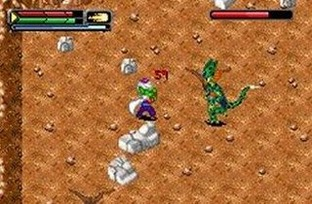 Test Dragon Ball Z : L'Heritage de Goku 2 Gameboy Advance - Screenshot 12