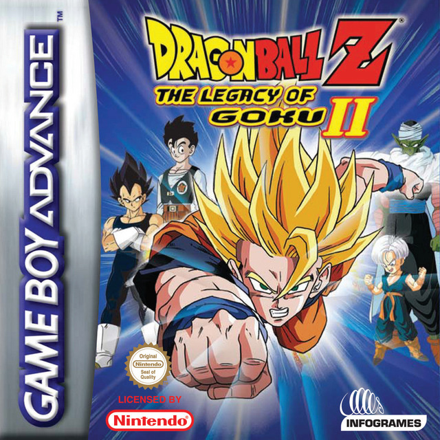 dragon ball z lheritage de goku 2 gba