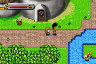 Test Dragon Ball Z : L'Heritage De Goku Gameboy Advance - Screenshot 2