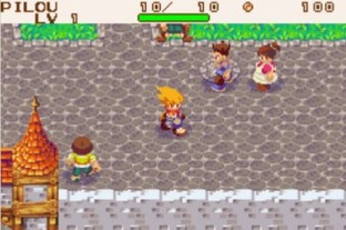 Test Dokapon Monster Hunter Gameboy Advance - Screenshot 1
